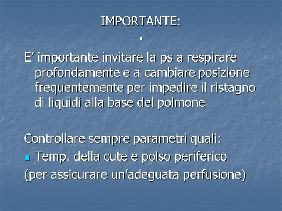 . IMPORTANTE: