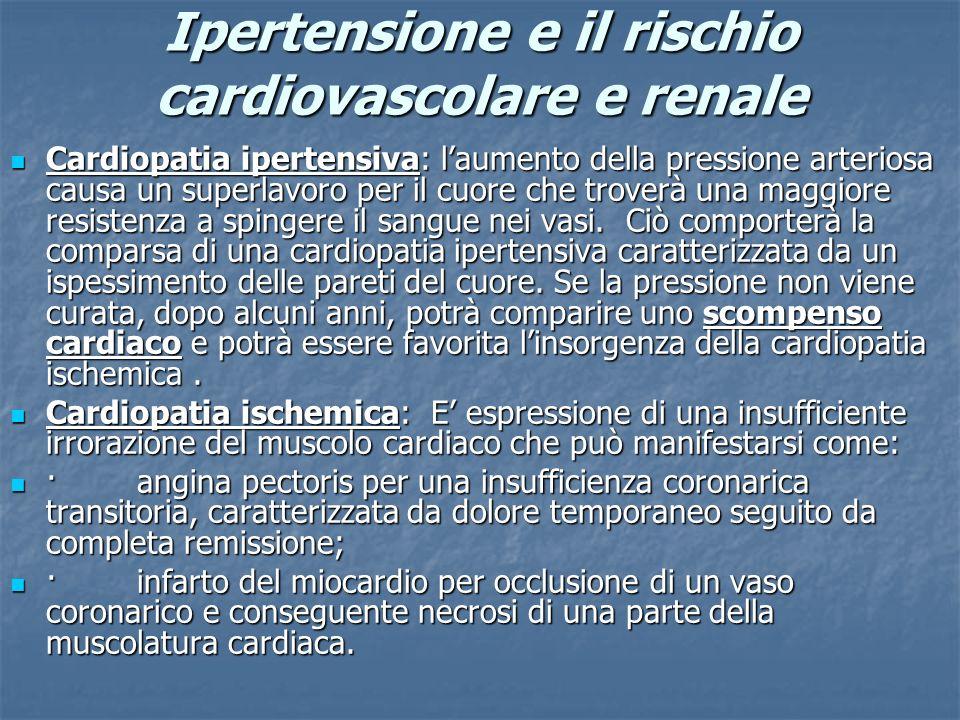 Ipertensione e il rischio cardiovascolare e renale