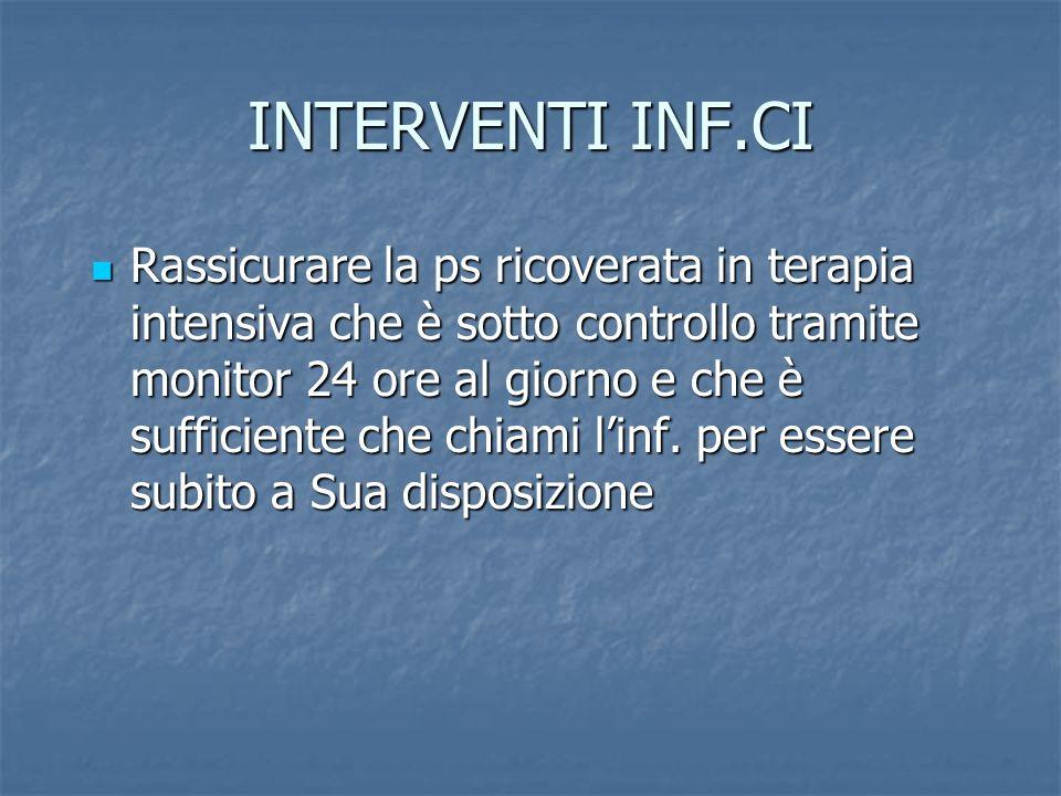 INTERVENTI INF.CI