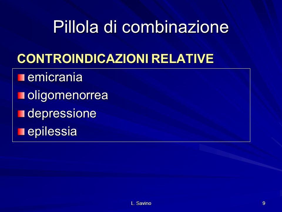 Pillola di combinazione