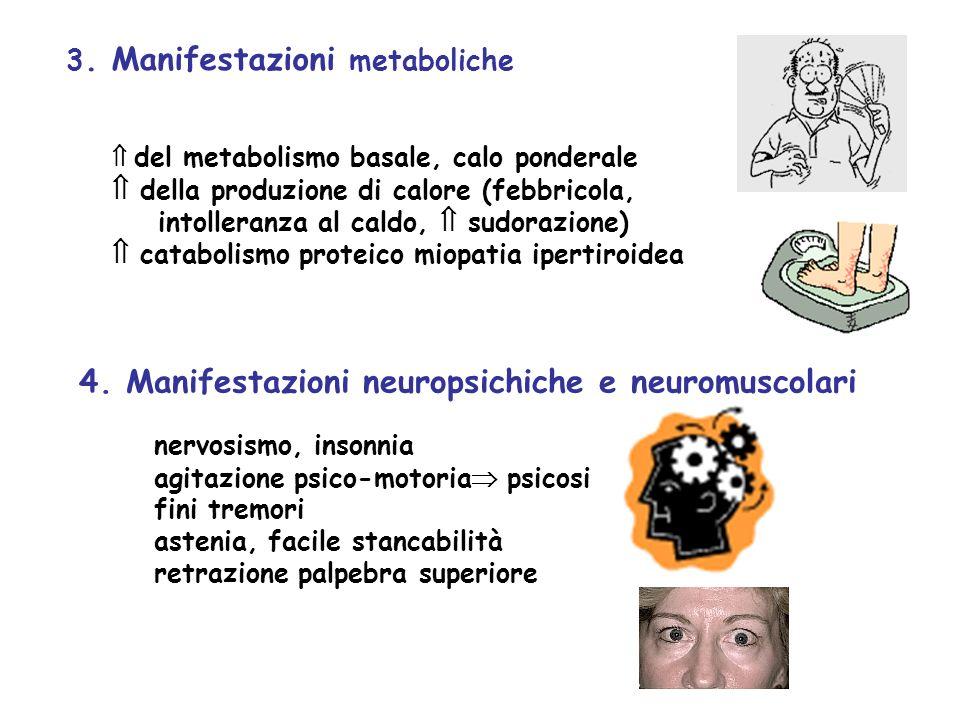 4. Manifestazioni neuropsichiche e neuromuscolari