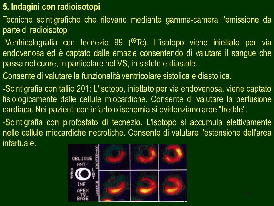 5. Indagini con radioisotopi