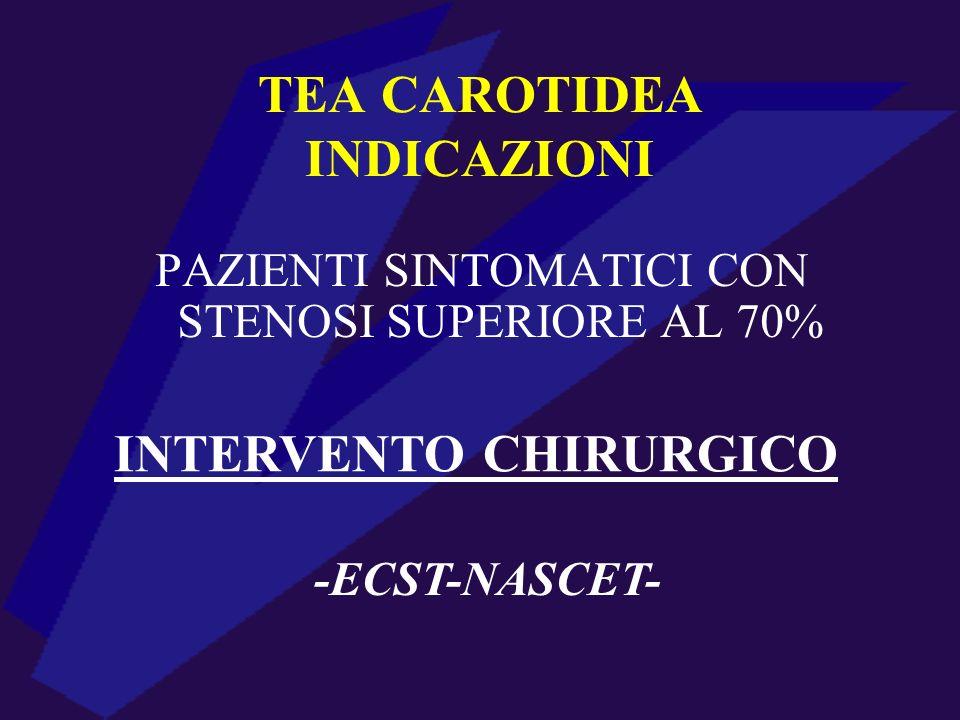 TEA CAROTIDEA INDICAZIONI