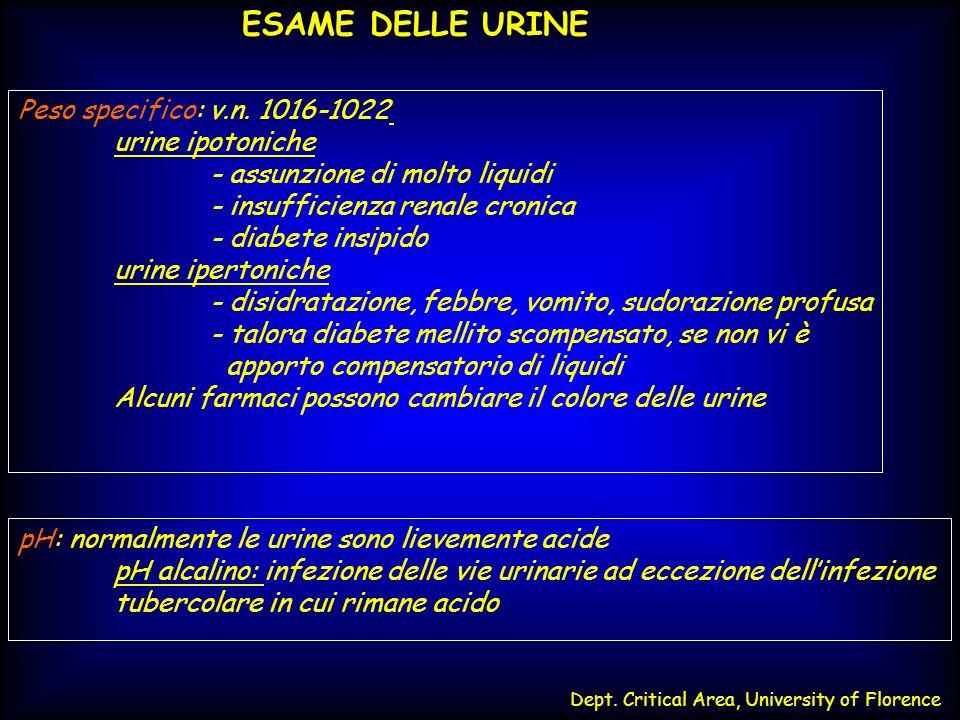 - assunzione di molto liquidi - insufficienza renale cronica