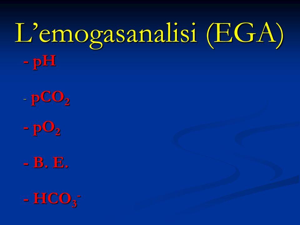 L'emogasanalisi (EGA)