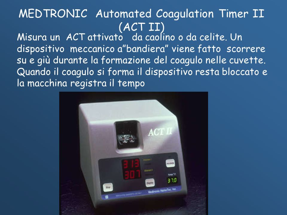 MEDTRONIC Automated Coagulation Timer II