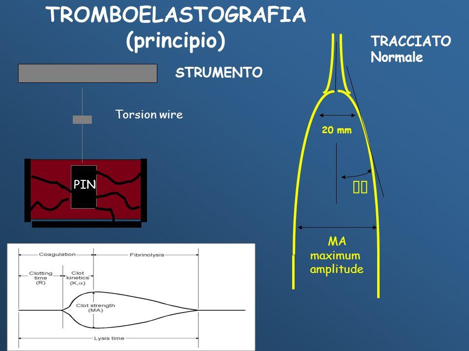 TROMBOELASTOGRAFIA (principio)