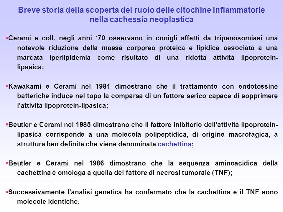 Breve storia della scoperta del ruolo delle citochine infiammatorie