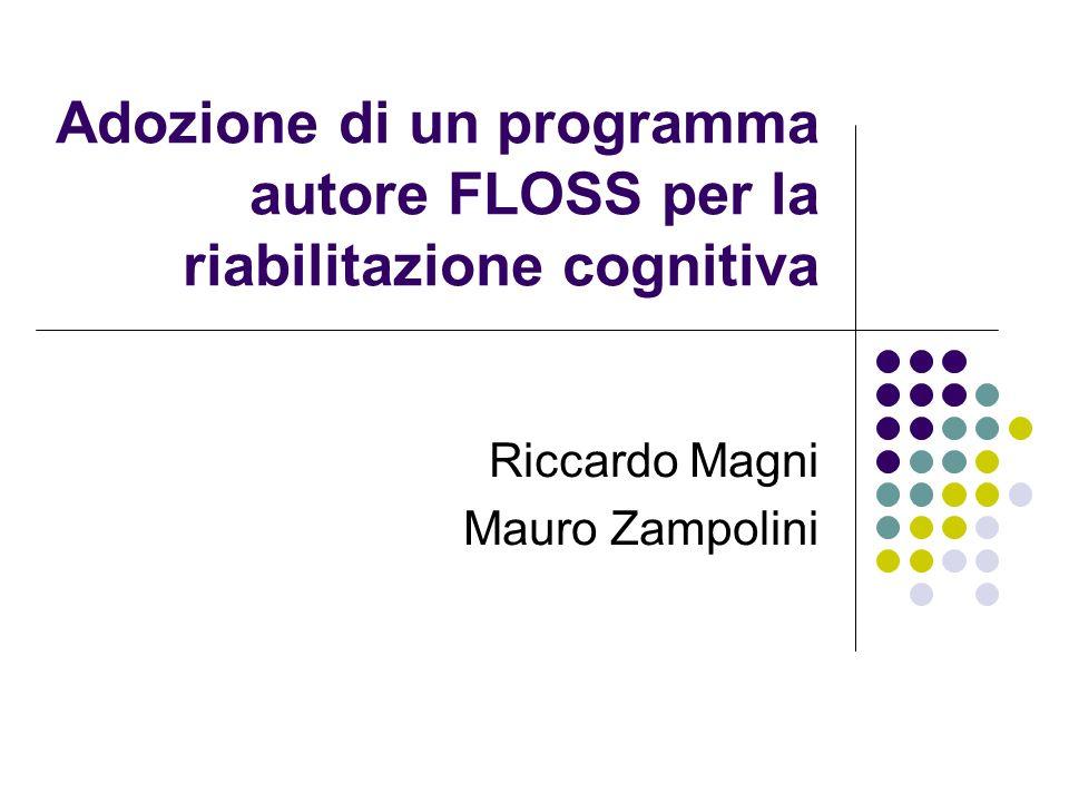 Adozione di un programma autore FLOSS per la riabilitazione cognitiva