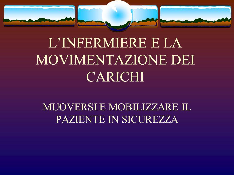 L'INFERMIERE E LA MOVIMENTAZIONE DEI CARICHI