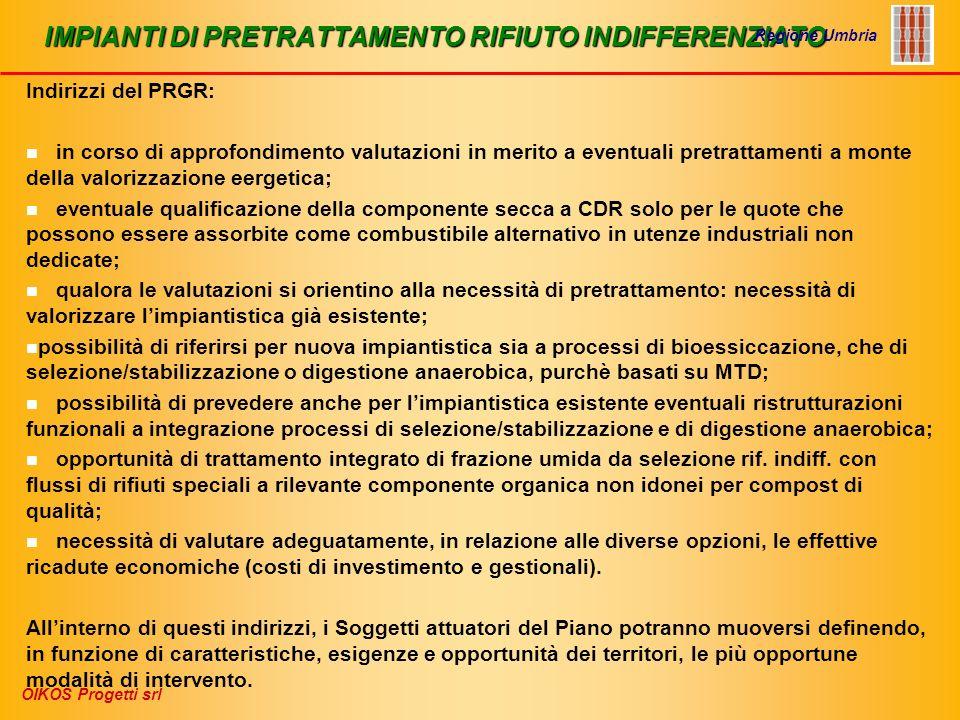IMPIANTI DI PRETRATTAMENTO RIFIUTO INDIFFERENZIATO