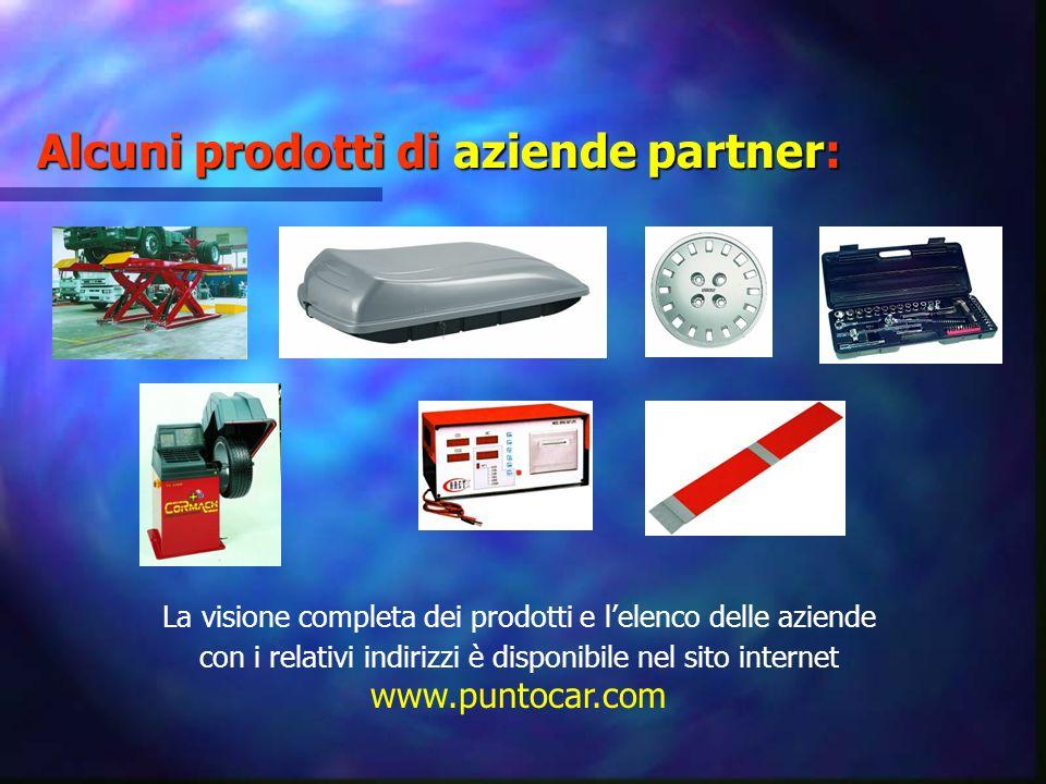 Alcuni prodotti di aziende partner: