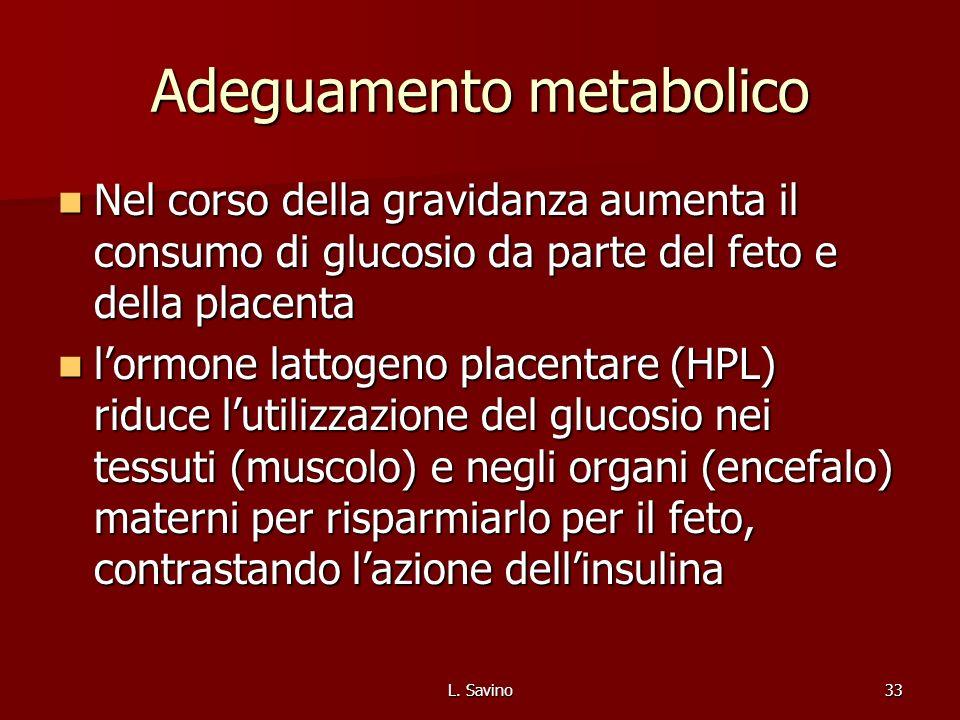 Adeguamento metabolico