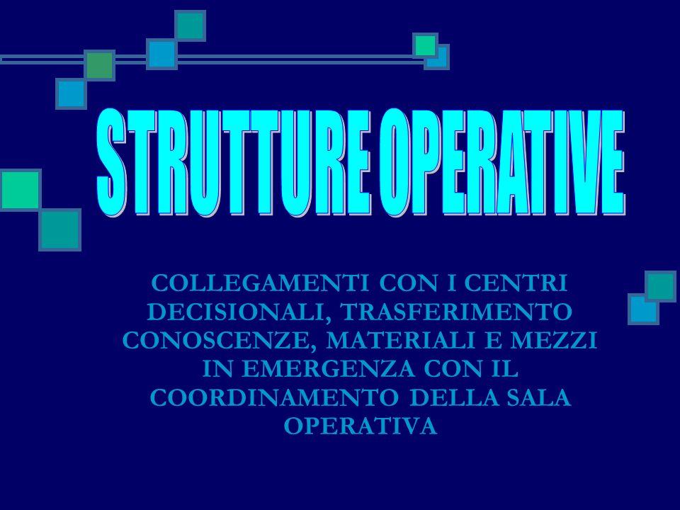 STRUTTURE OPERATIVE