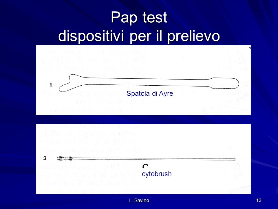 Pap test dispositivi per il prelievo