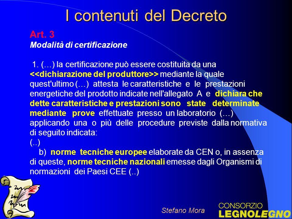 I contenuti del Decreto