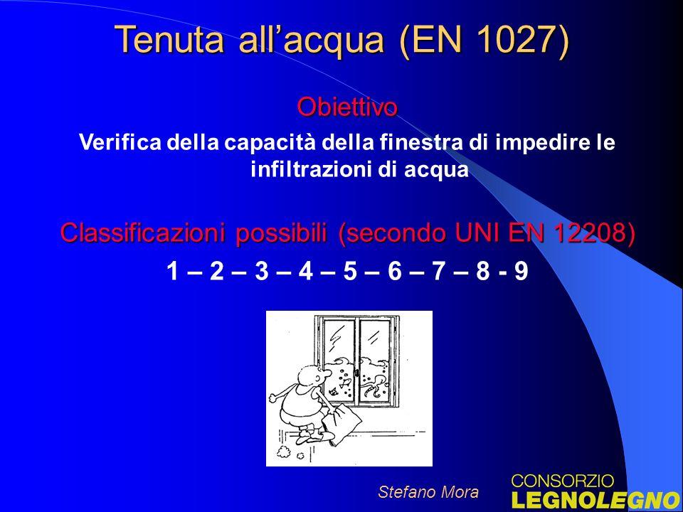 Classificazioni possibili (secondo UNI EN 12208)