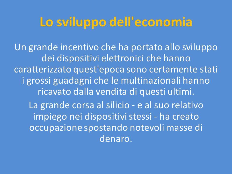 Lo sviluppo dell economia