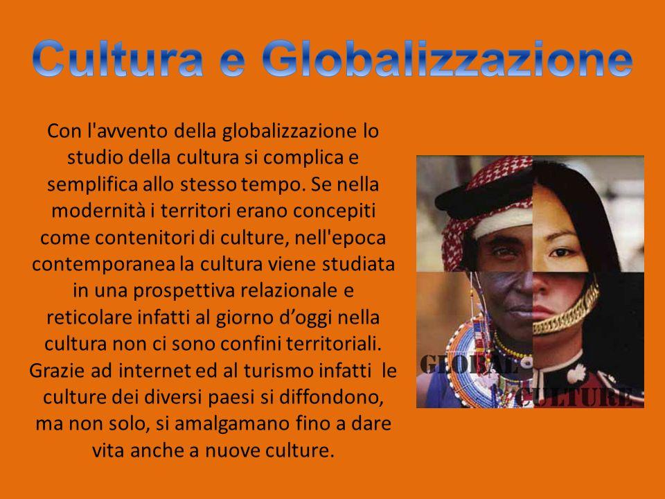 Cultura e Globalizzazione