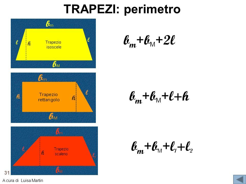 bm+bM+2l bm+bM+l+h bm+bM+l1+l2 TRAPEZI: perimetro