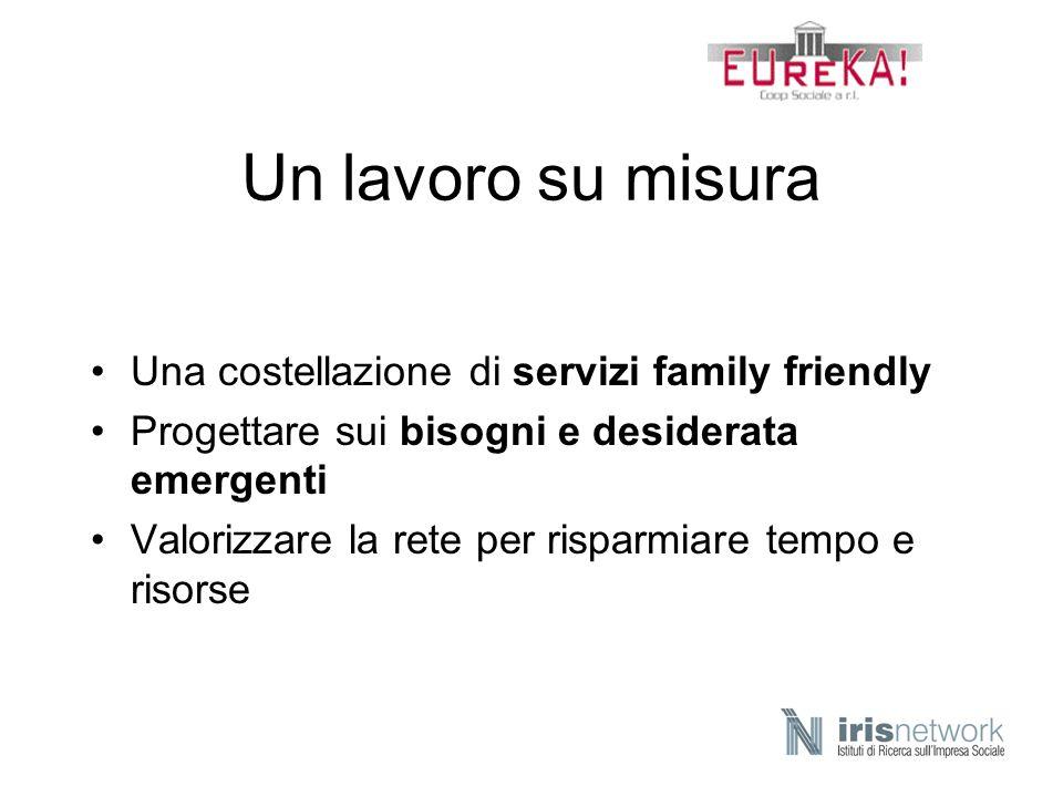 Un lavoro su misura Una costellazione di servizi family friendly