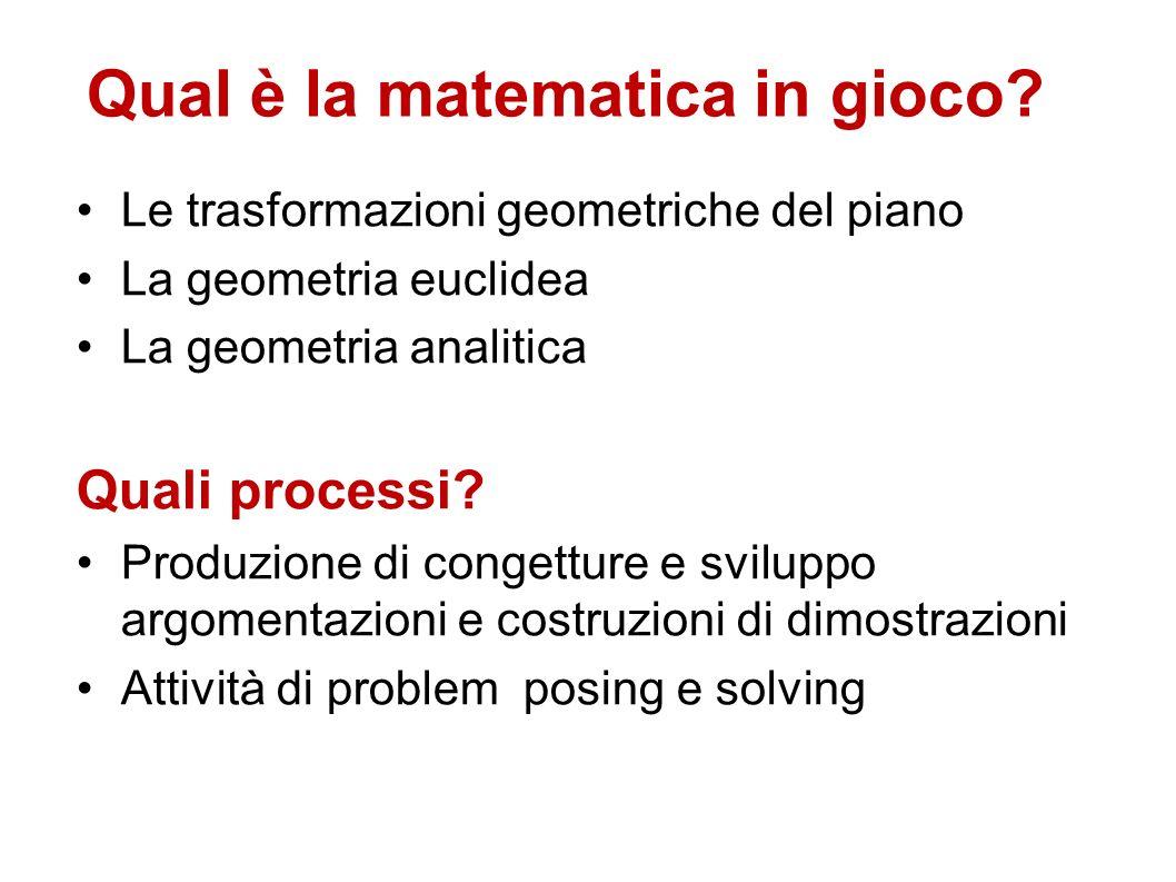 Qual è la matematica in gioco