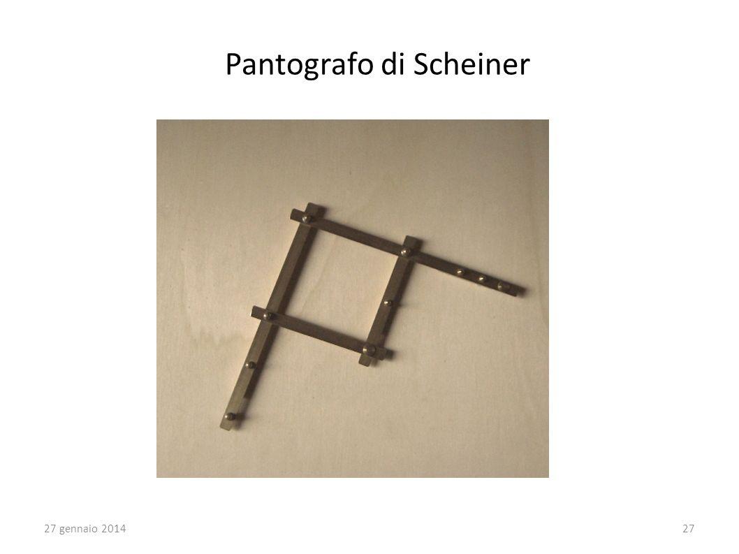 Pantografo di Scheiner