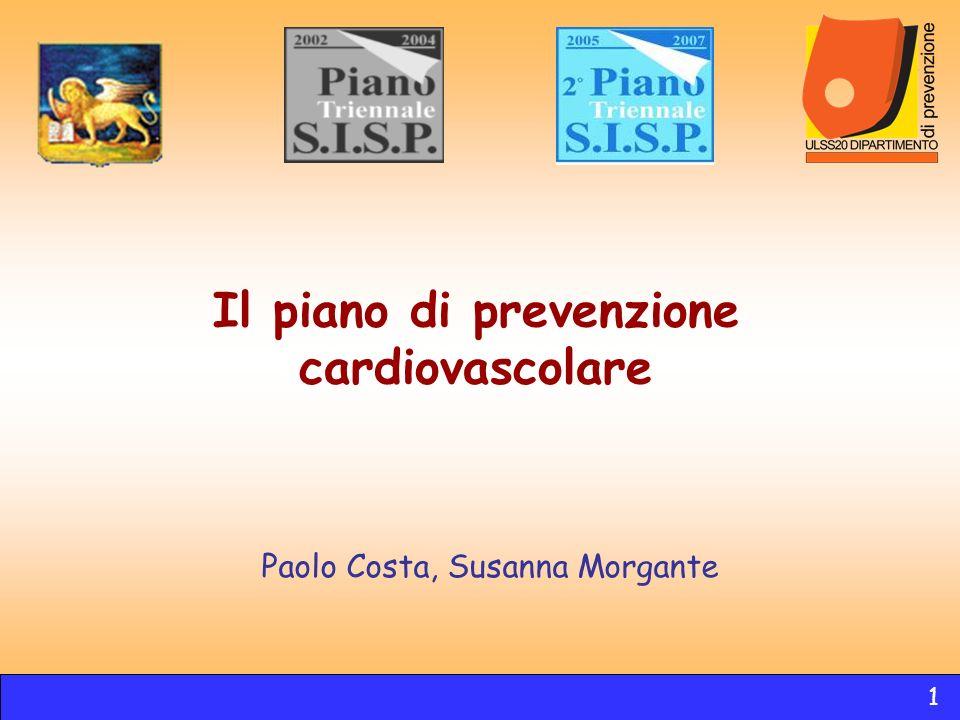 Il piano di prevenzione cardiovascolare