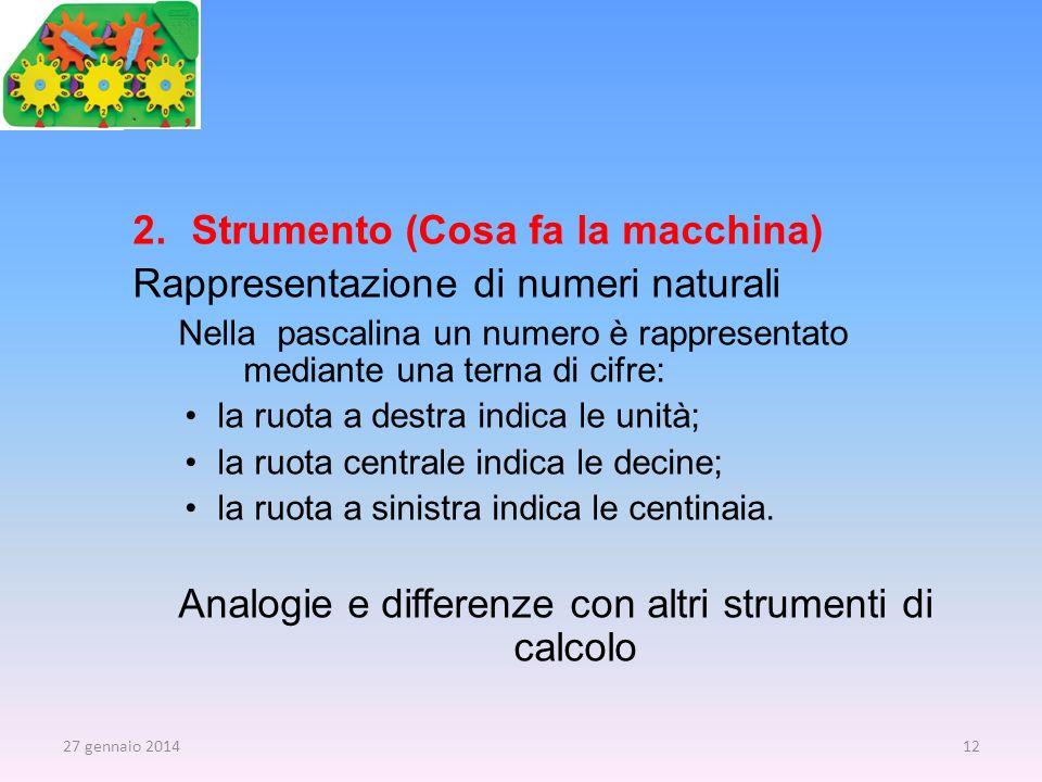 Analogie e differenze con altri strumenti di calcolo