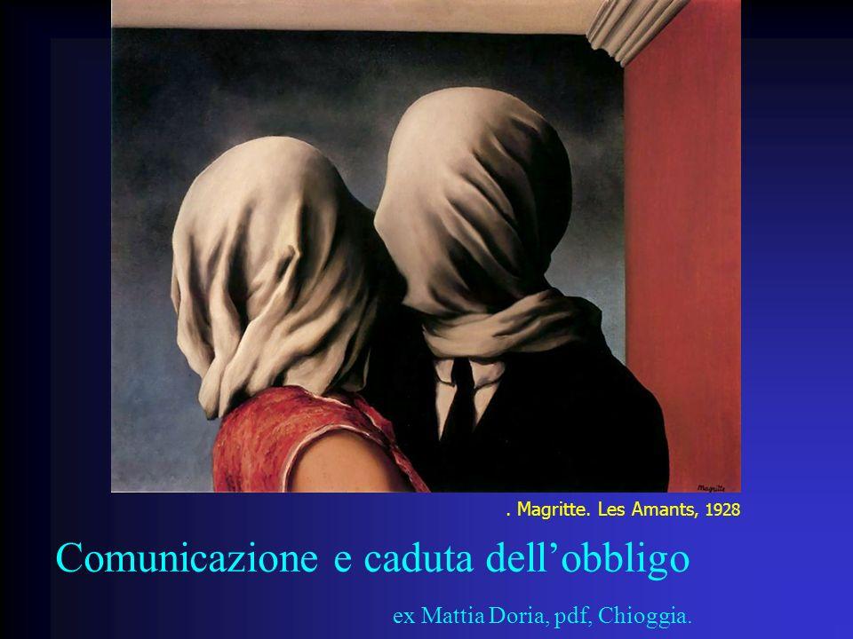 Comunicazione e caduta dell'obbligo ex Mattia Doria, pdf, Chioggia.