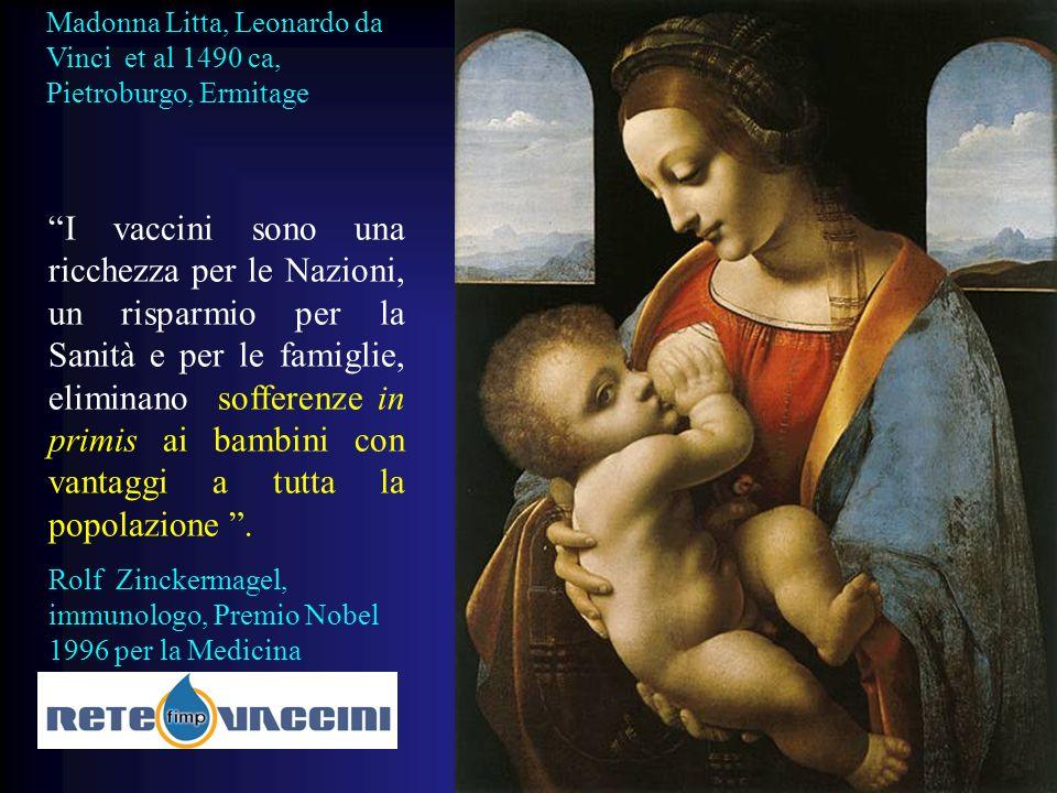 Madonna Litta, Leonardo da Vinci et al 1490 ca, Pietroburgo, Ermitage