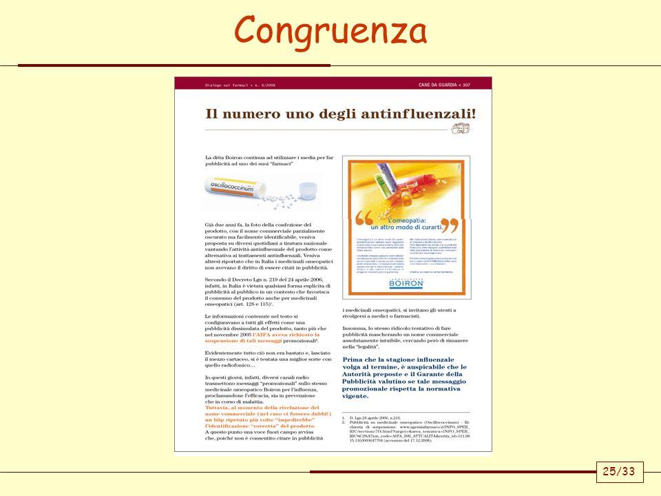 Congruenza 25/33