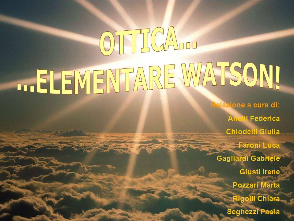 OTTICA... ...ELEMENTARE WATSON!
