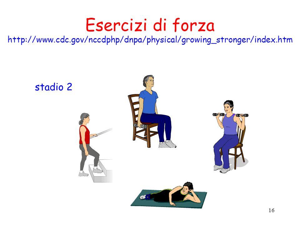 Esercizi di forza stadio 2