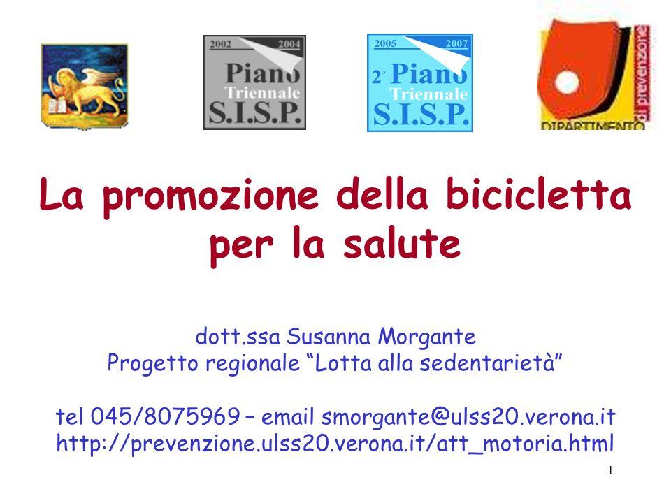 La promozione della bicicletta per la salute