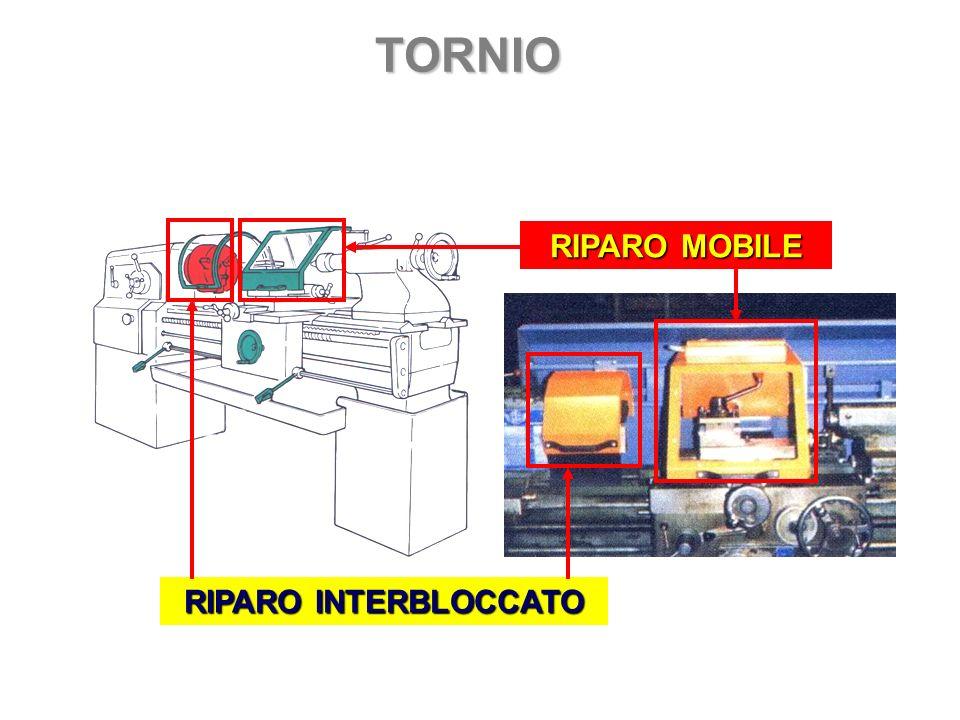 TORNIO RIPARO MOBILE RIPARO INTERBLOCCATO