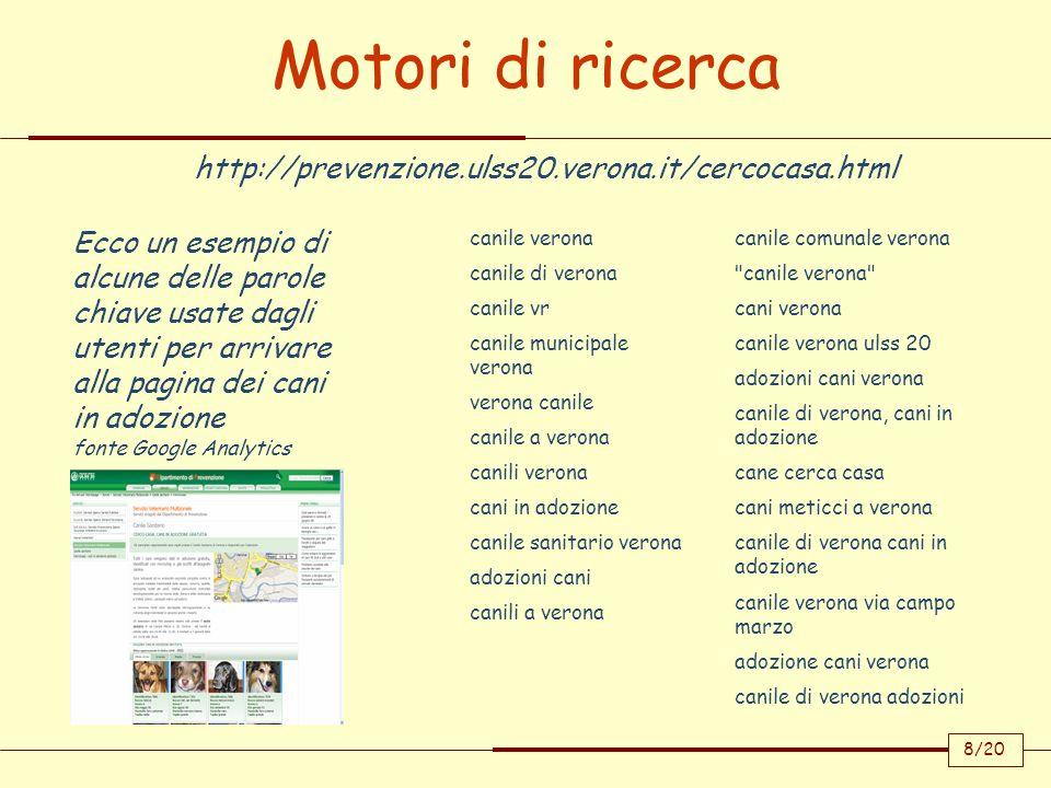 Motori di ricerca http://prevenzione.ulss20.verona.it/cercocasa.html