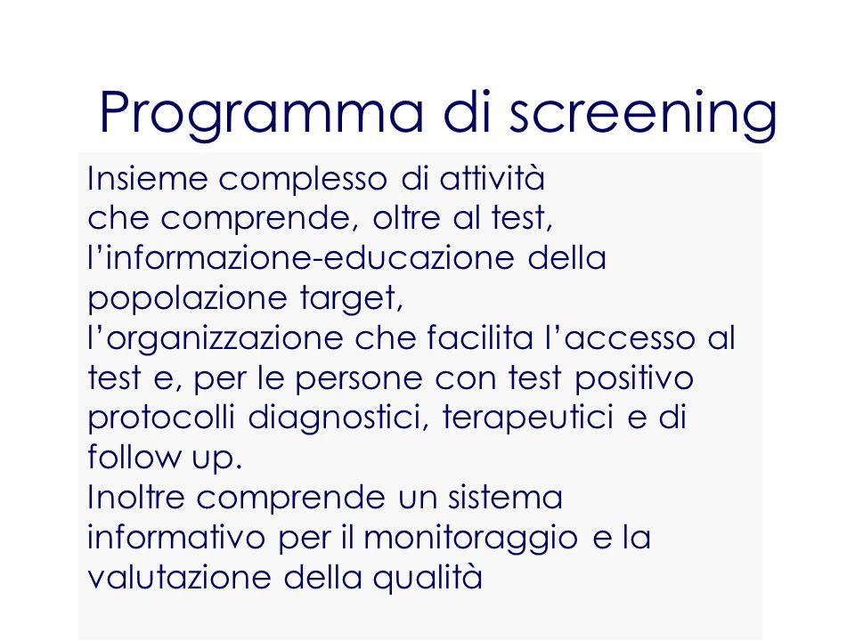 Programma di screening