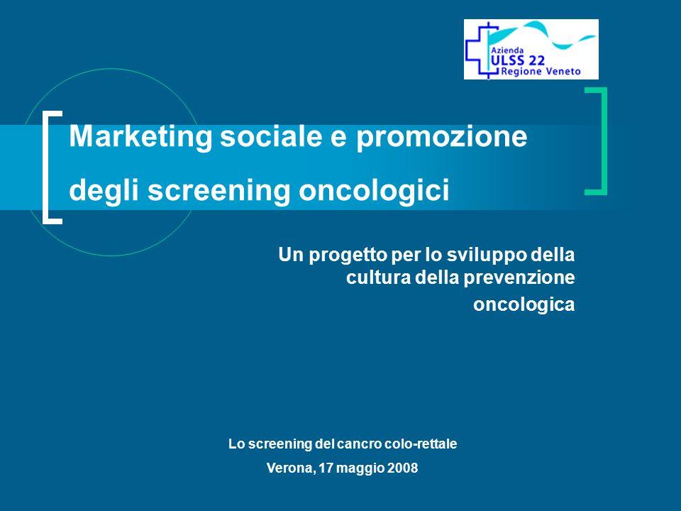 Marketing sociale e promozione degli screening oncologici