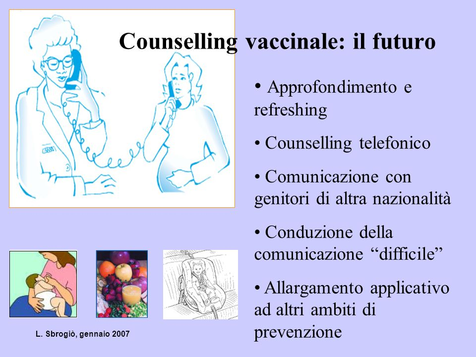 Counselling vaccinale: il futuro