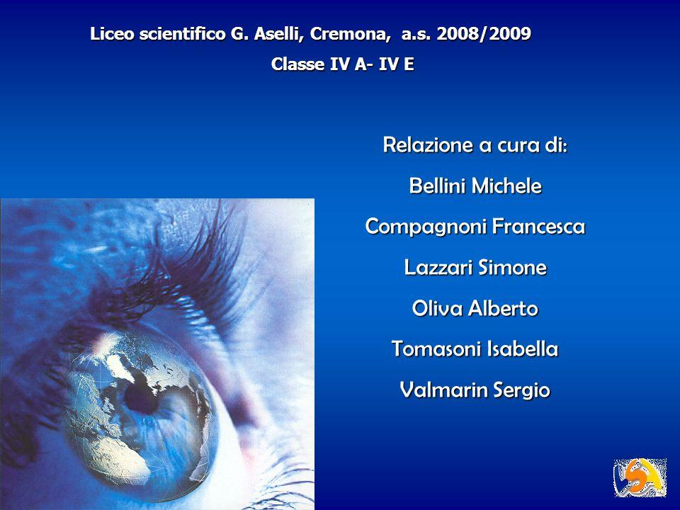 Relazione a cura di: Bellini Michele Compagnoni Francesca