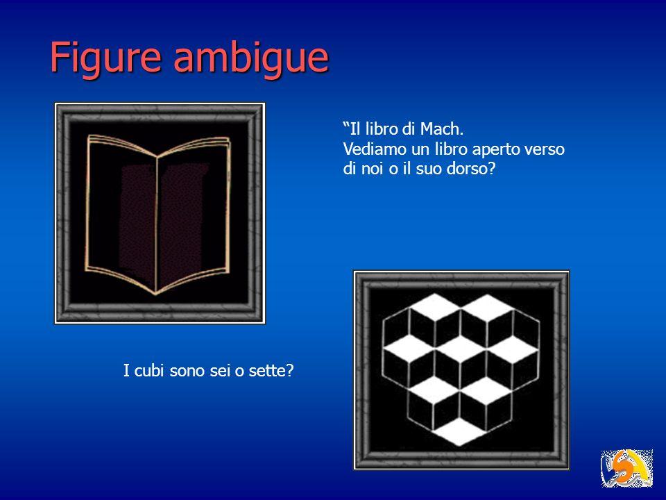 Figure ambigue Il libro di Mach.
