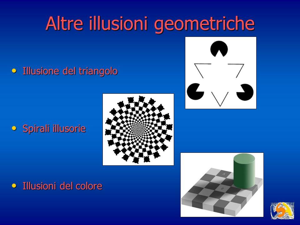 Altre illusioni geometriche