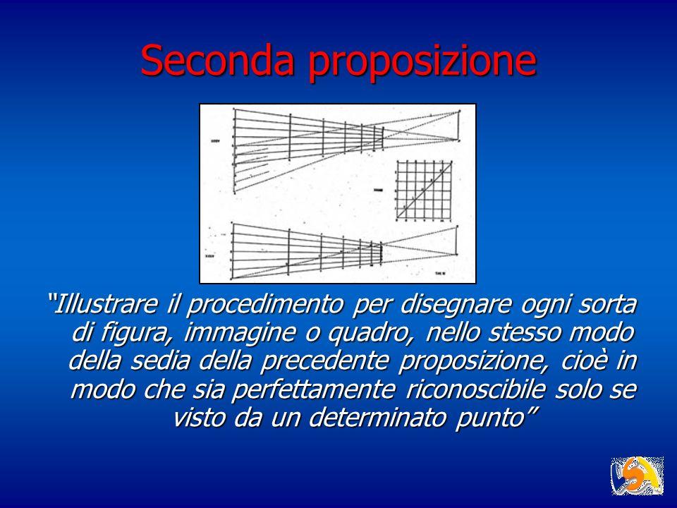 Seconda proposizione