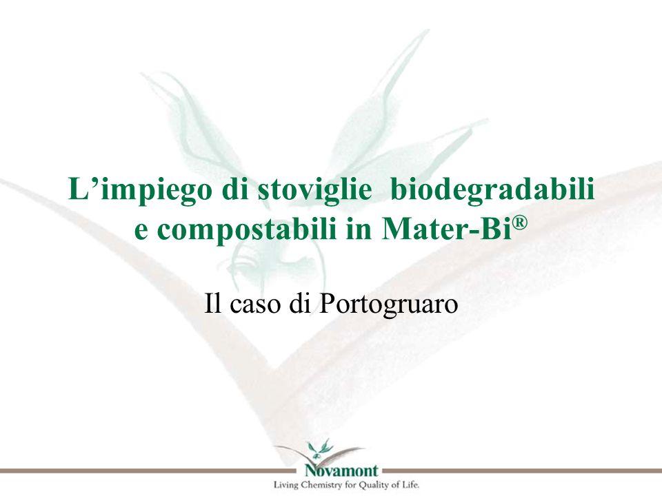 L'impiego di stoviglie biodegradabili e compostabili in Mater-Bi®