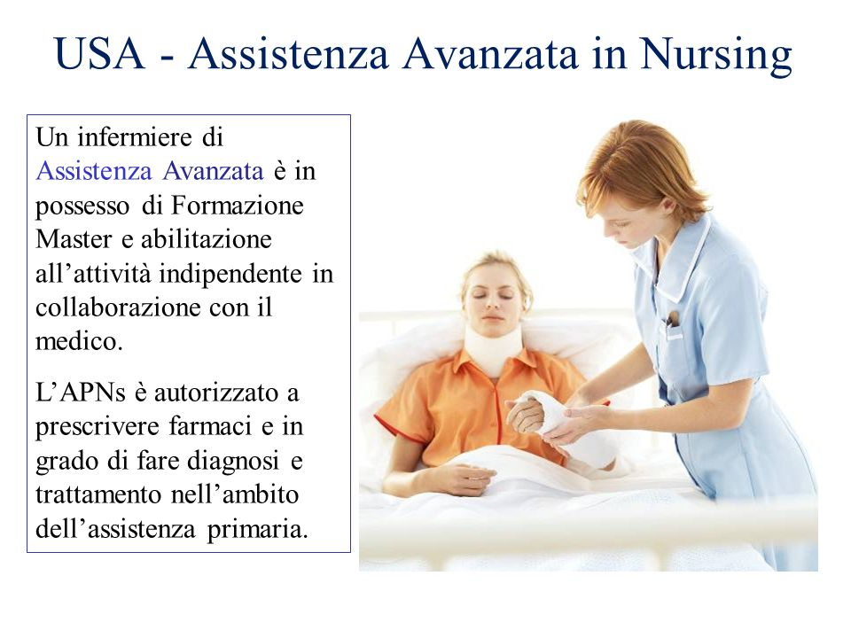USA - Assistenza Avanzata in Nursing
