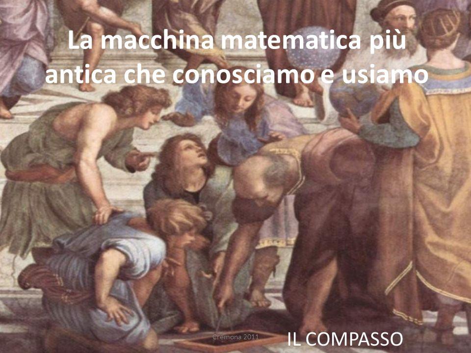 La macchina matematica più antica che conosciamo e usiamo