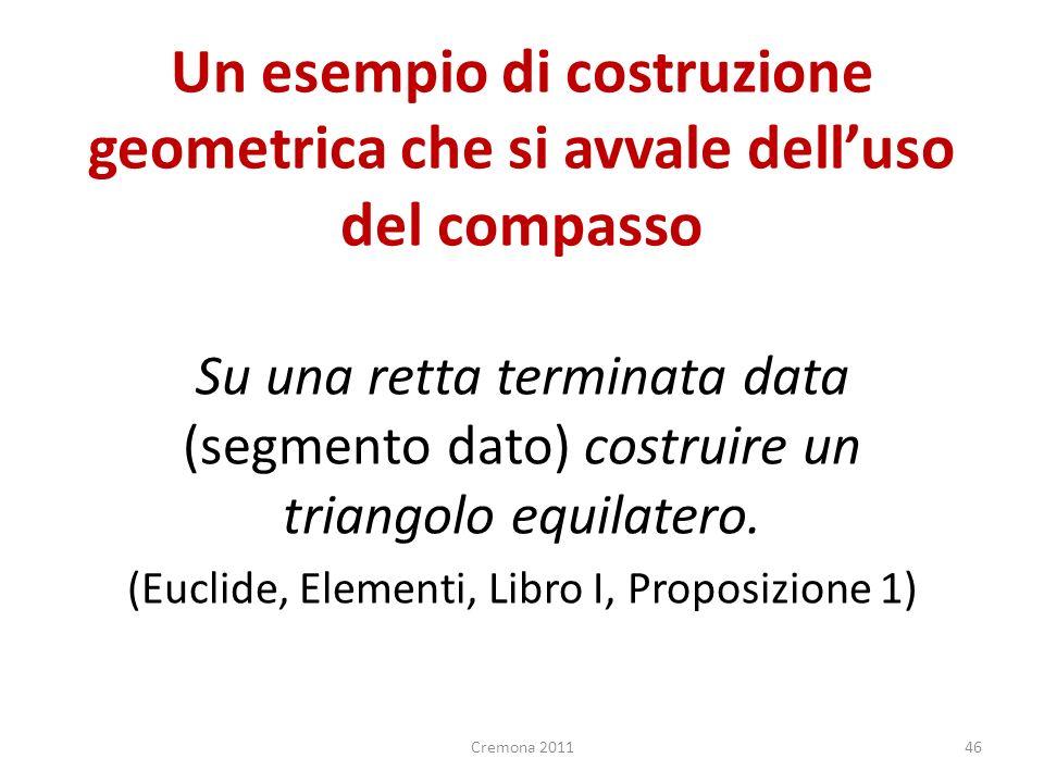 (Euclide, Elementi, Libro I, Proposizione 1)