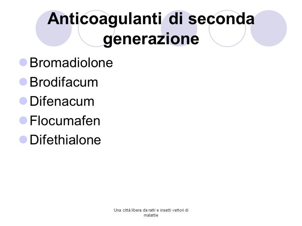 Anticoagulanti di seconda generazione