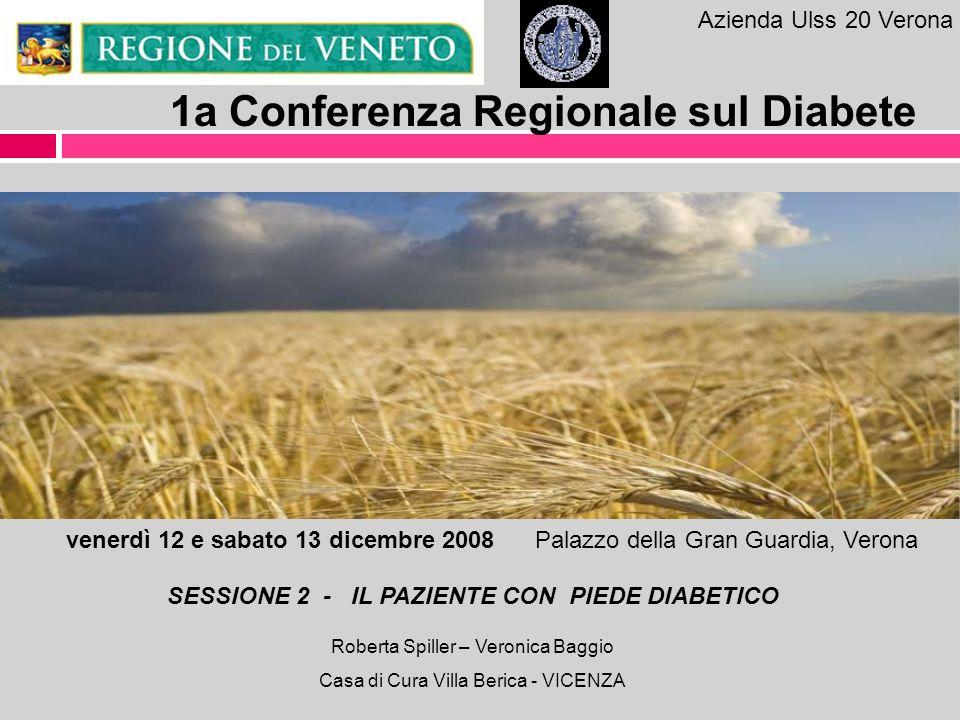 1a Conferenza Regionale sul Diabete